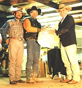Open Champion Tokita, Bill Fukui(NoName Ranch) & Tim Linch